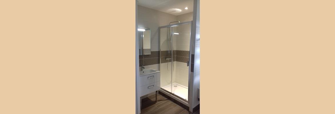 Création d'un salle de bain.